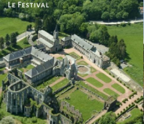 Festival de l'Abbaye d'Aulne – Concert promenade le 7 juillet