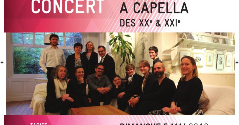Concert à Liège le 5 mai